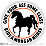 Morgan Vinyl Decal