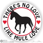 Mule Gaited Decal