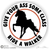 Tennessee Walker Horse Trailer Decal