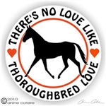 Thoroughbred Decal
