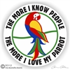Macaw Decal
