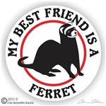 Ferret Decal