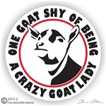 Dairy Goat Decal