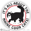 Maine Coon Decal