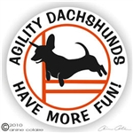 Dachshund Decal
