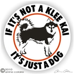 Alaskan Klee Kai Decal