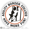 Border Collie Decal