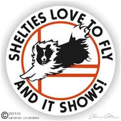 Sheltie Decal
