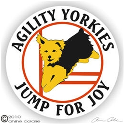 Yorkie Decal