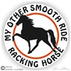 Racking Horse Trailer Decal