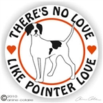 English Pointer Decal