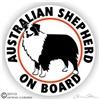 Haulin Auss Australian Shepherd Dog Stickers Amp Decals