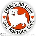 Norfolk Terrier Decal