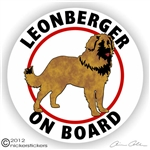 Leonberger Decal