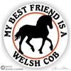 Welsh Cob Horse Trailer Decal