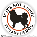 German Spitz Decal