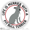Pit Bull Terrier Decal