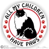 Ragdoll Cat Decal
