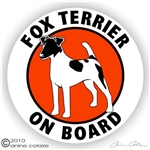 Fox Terrier Decal