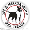 Bull Terrier Decal