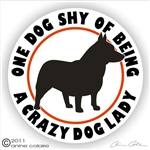 Swedish Vallhund Decal
