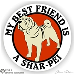 Shar-Pei Decal