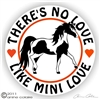 Mini Horse Pinto Vinyl Decal
