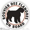 Bouvier de Flandres Decal