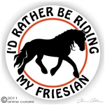 Friesian Decal