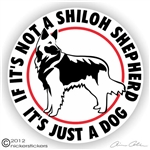 Shilo Shepherd Decal