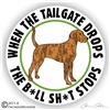 Plott Hound Dog Decal Sticker Static Cling Car Truck RV Window