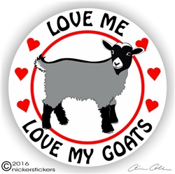 Pygmy Goat Decal