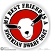 Nigerian Dwarf Goat Decal