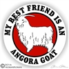 Angora Goat Decal