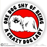 Pekingese Decal