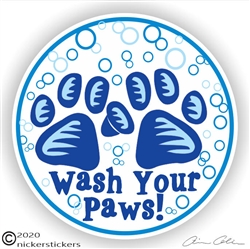 Paw Print Sticker Decal
