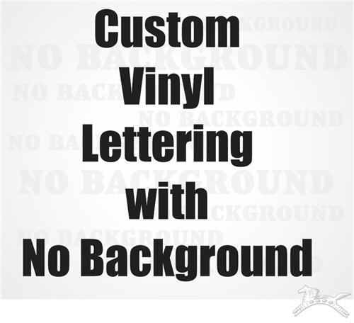 Customized text vinyl lettering custom text decal sticker larger photo email a friend