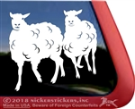 Custom Sheep Window Decal