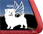 Custom Norfolk Terrier Angel Memorial Dog Car Truck RV Yeti Laptop iPad Window Decal