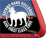 American Bulldog Window Decal