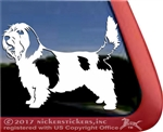 Petit Basset Griffon Vendeen Dog Car Truck RV Window Decal