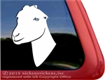 Custom La Mancha Goat Car Truck RV Trailer Window Decal Sticker