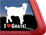 Pygmy Goat Car Truck RV Window Decal Sticker