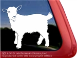 Custom Pygmy Goat Car Truck RV Trailer Window Decal Sticker