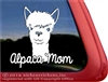 Alpaca Car Truck RV Window Decal Sticker