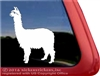 Custom Suri Alpaca Window Decal