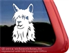 Custom Suri Alpaca Car Truck RV Window Decal Sticker