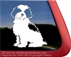 Custom Cavachon Dog Window Decal