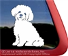 Custom Zuchon Shishon Teddy Bear Dog Window Decal