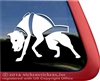 American Pit Bull Terrier Weight Pulling Car Truck RV Window Decal Sticker